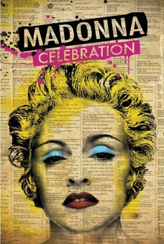 Plakat Madonna - celebration