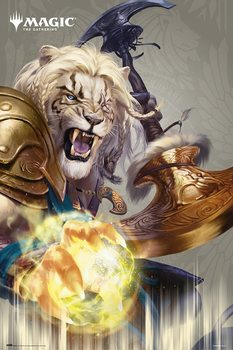 Plakát Magic The Gathering - Ajani