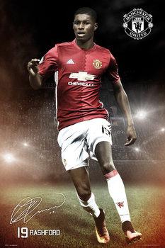 Plakát Mancherster United - Rashford 16/17