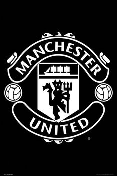 Plakát  Manchester United - Crest 17/18