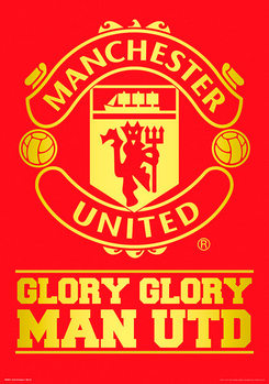 Plakat Manchester United FC - Crest