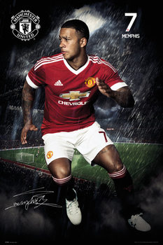 Plakat Manchester United FC - Depay 15/16