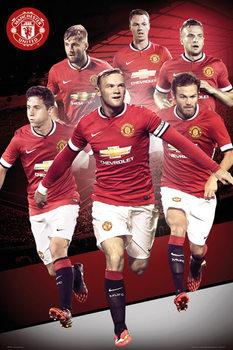 Plakát Manchester United FC - Players 14/15