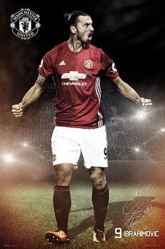 Plakat Manchester United - Ibrahimovic 16/17