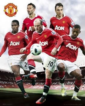 Plakát Manchester United - players