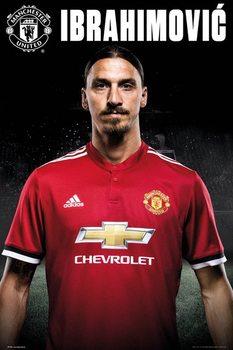 Plakát  Manchester United - Zlatan Stand 17-18