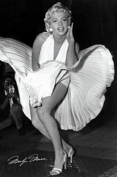 Plakat Marilyn Monroe - seven year