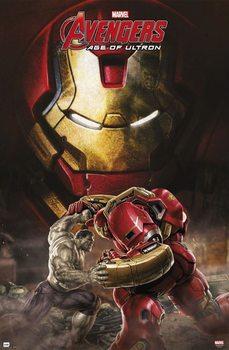 Plakat Marvel - Avengers age of Ultron, Hulkbuster