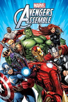 Plakat MARVEL - AVENGERS – group