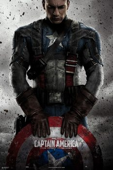 Plakat Marvel - Captain America