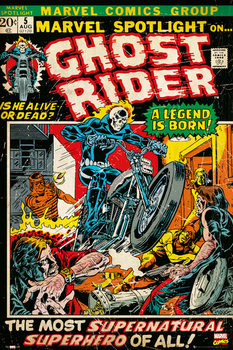 Plakát  MARVEL - ghost rider