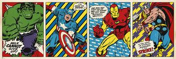Plakat Marvel