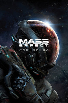 Plakát  Mass Effect Andromeda - Key Art
