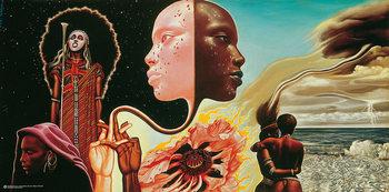 Plakat Mati Klarwein Miles Davis: Bitches Brew