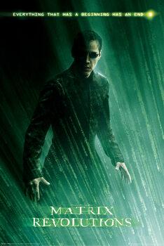 Plakát Matrix Revolutions - Neo