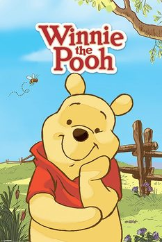 Plakát Medvídek Pú - Pú