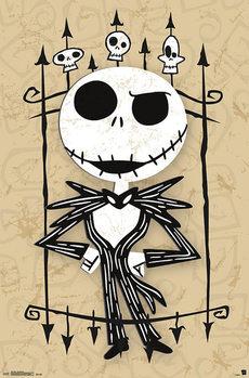 Plakat Miasteczko Halloween - Jack