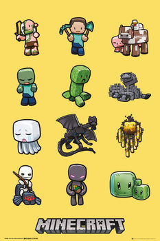 Plakat Minecraft - characters
