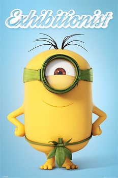 Plakat Minionki (Despicable Me) - Exhibitionist