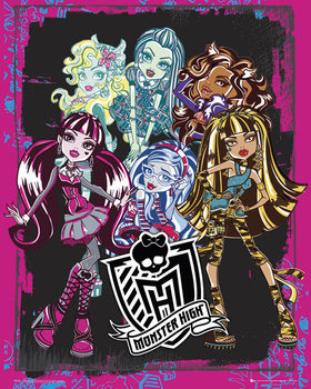 Plakát MONSTER HIGH - group