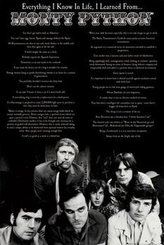 Plakát Monty Python - everything i know in life