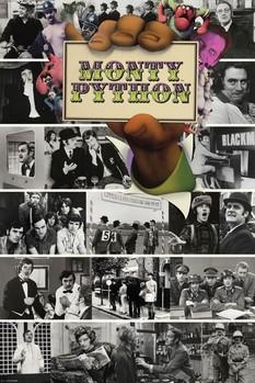 Plakat Monty Python - flying circus montage