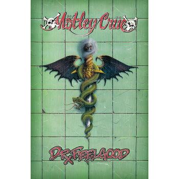 Textilní plakát Motley Crue - Doctor Feelgood