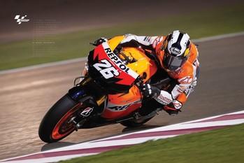 Plakát Moto GP - dani pedrosa