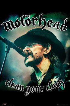 Plakát  Motorhead - Clean Your Clock (Global)