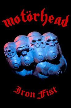Textilní plakát Motorhead – Iron Fist