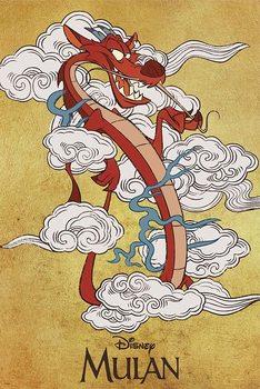 Plakat Mulan - Mushu