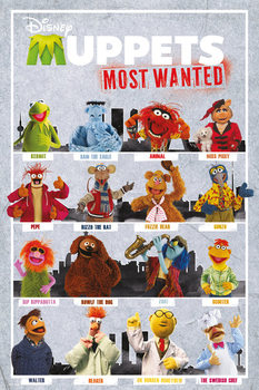Plakat  MUPPETS MOST WANTED - compilation