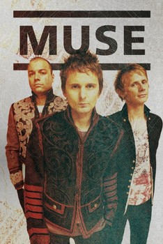Plakat Muse - band