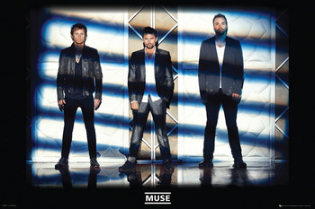 Plakat Muse - lights