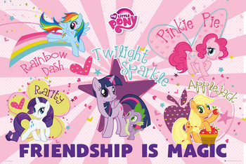 Plakat My Little Pony - Friendship Is Magic