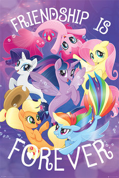 Plakát My Little Pony Movie - Friendship is Forever