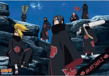 Plakat Naruto - Akatsuki
