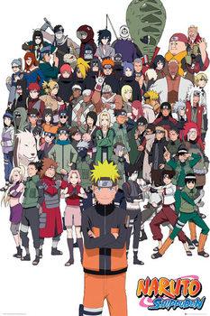 Plakat Naruto Shippuden - Group