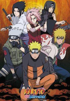 Plakat Naruto Shippuden