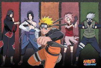 Plakat Naruto Shippuden - Naruto & Allies