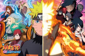 Plakat Naruto Shippuden - Split