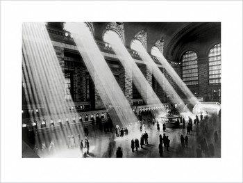 Reprodukcja New York - Grand central terminal