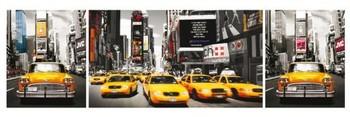 Plakát  New York - taxi