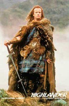 Plakat Niesmiertelny - Highlander