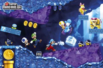 Plakat Nintendo - mario under