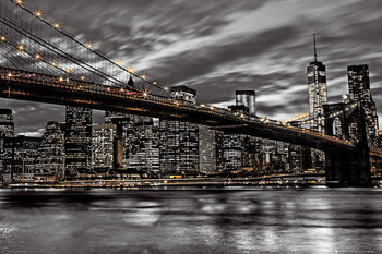 Plakat Nowy Jork - Assaf Fank