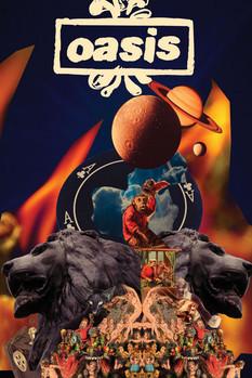 Plakat Oasis - Planets