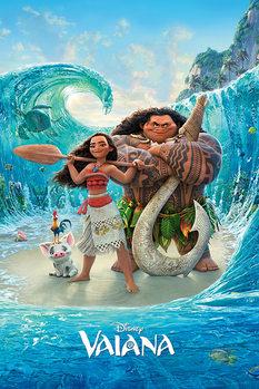 Plakát Odvážná Vaiana: Legenda o konci světa - Magical Sea