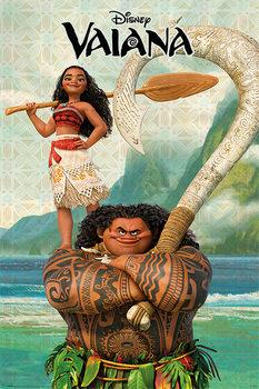 Plakát Odvážná Vaiana: Legenda o konci světa - Vaiana & Maui