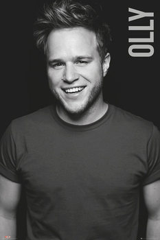 Plakat Olly Murs - Black and White